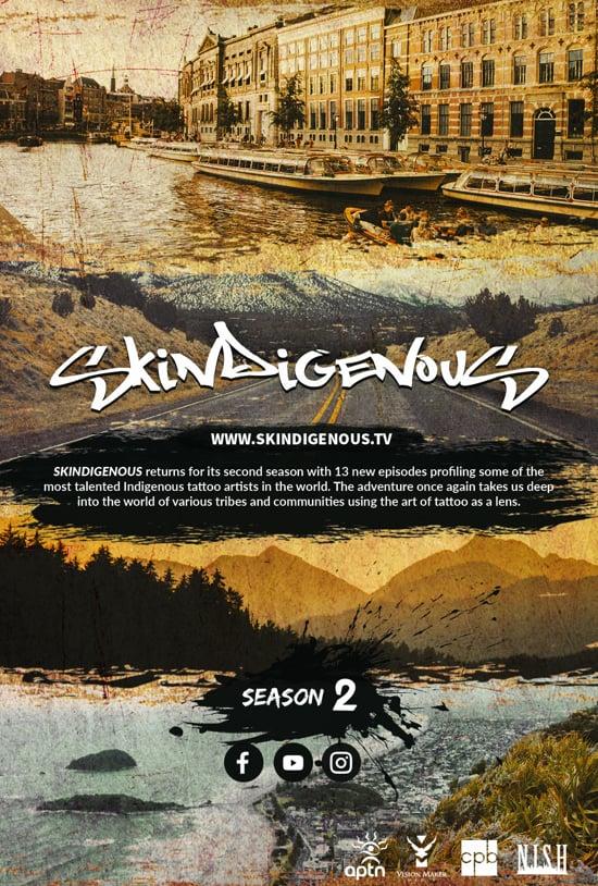 Skindigneous season 2 Poster