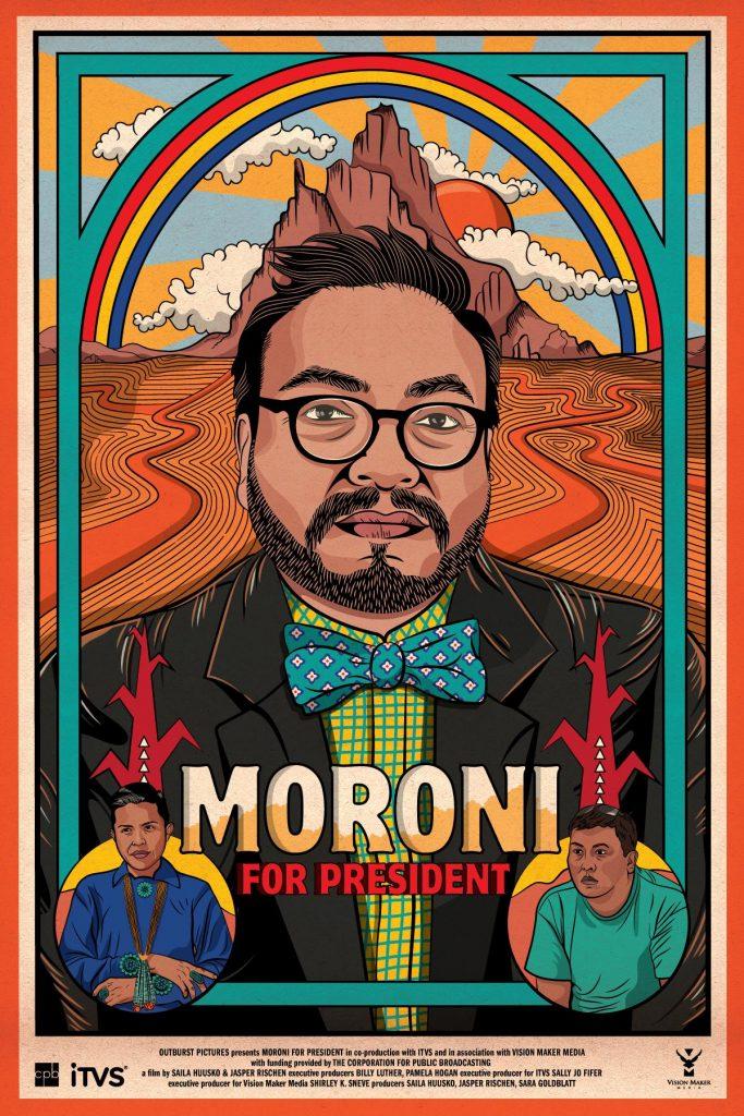 Moroni for President poster