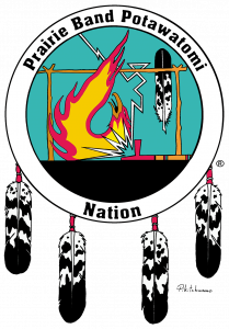 PRAIRIE BAND POTAWATOMI NATION logo