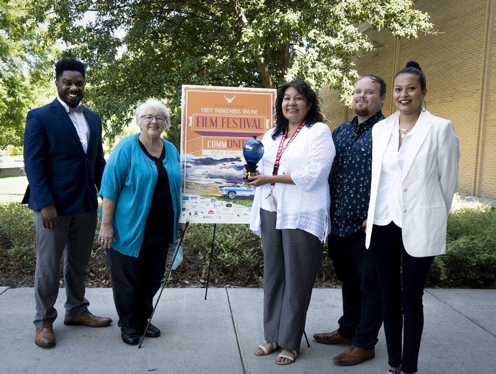 Vision Maker teams receives Mayors Arts Award