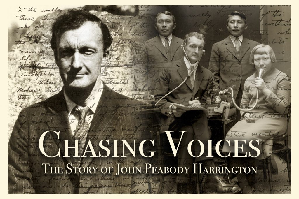 Chasing Voices Film Title Card